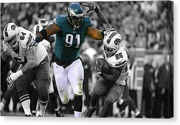 Fletcher Cox Eagles Super Bowl Canvas Print