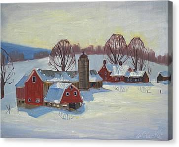 Fletcher Farm Canvas Print