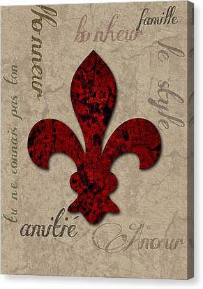 Fleur De Bella Canvas Print by Greg Sharpe