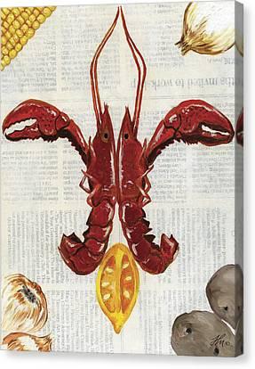 Fleur De Crawfish Canvas Print by Harris Meche