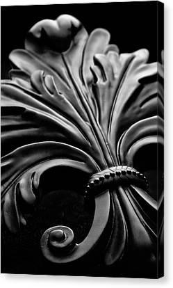 Purity Canvas Print - Fleur De Lis II by Tom Mc Nemar