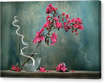 Floral Canvas Print by Manfred Lutzius