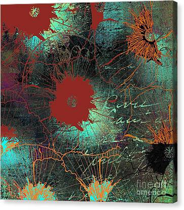 Fleurelle - 50w2sx2b Canvas Print by Variance Collections