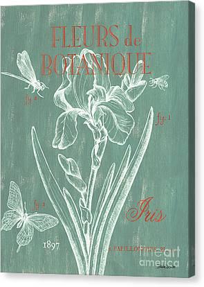 Fleurs De Botanique Canvas Print by Debbie DeWitt