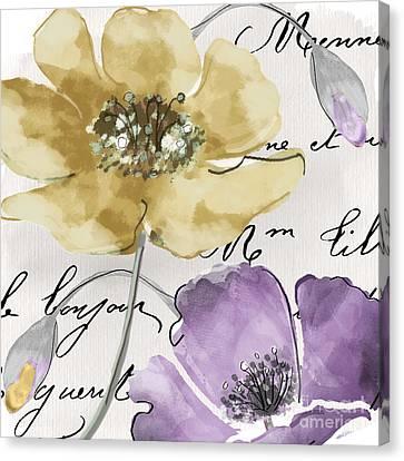 Fleurs De France II Canvas Print by Mindy Sommers