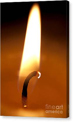 Flickering Flame Canvas Print by Jorgo Photography - Wall Art Gallery