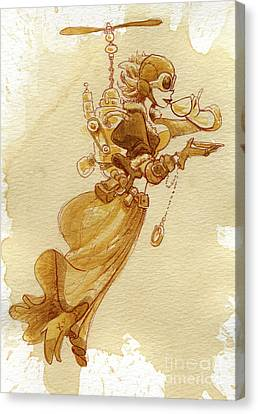 Flight Canvas Print by Brian Kesinger