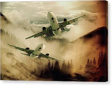 Flight Of Fancy Canvas Print