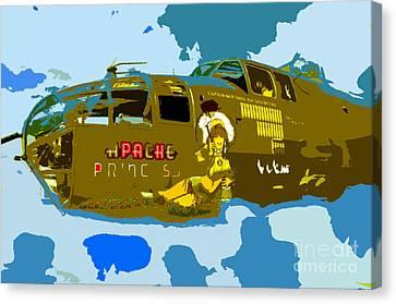 Flight Of The Apache Princess Canvas Print by David Lee Thompson