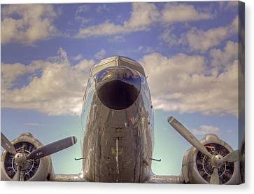 Flight Ready Canvas Print by William Wetmore