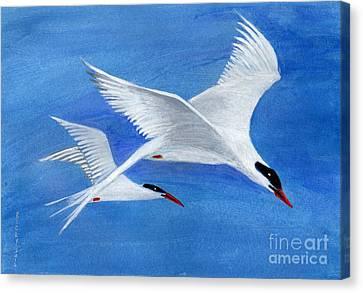 Flight - Painting Canvas Print by Veronica Rickard
