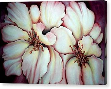 Flighty Floral Canvas Print