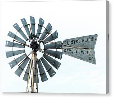 Flint And Walling Windmill Canvas Print by Gary Warnimont