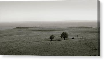 Canvas Print featuring the photograph Flint Hills Vistas by Thomas Bomstad