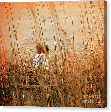 Flirting With Summer Canvas Print by Susanne Van Hulst