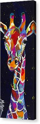 Flirty Canvas Print by Tracy Miller