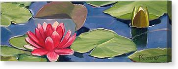 Float Canvas Print by Dianna Poindexter