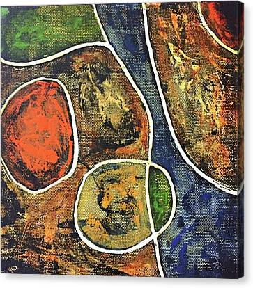 Floater 881 Canvas Print by Shelley Graham Turner