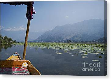 Floating Adventure... Canvas Print by Nina Stavlund