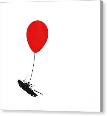 Floating Away  Canvas Print by Pixel Chimp