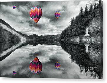 Floating Dreams Canvas Print by Ian Mitchell