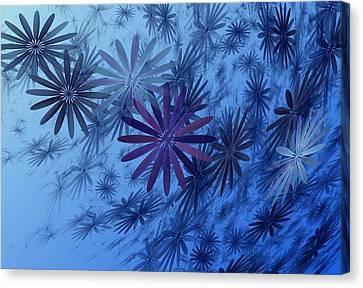 Phlox Canvas Print - Floating Floral-010 by David Lane