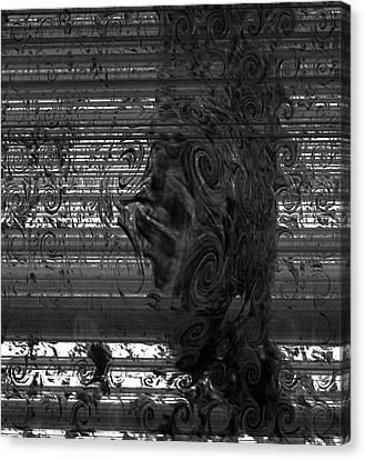 Floating Like Smoke Canvas Print by Fania Simon