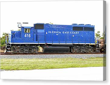 Floirda East Coast Engine Canvas Print