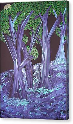 Flooded Forest Canvas Print