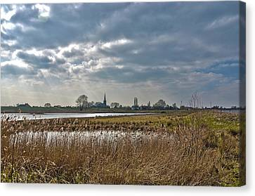 Floodplains Near Culemborg Canvas Print