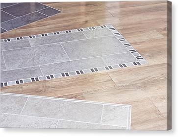 Floor Decor Canvas Print by Tom Gowanlock