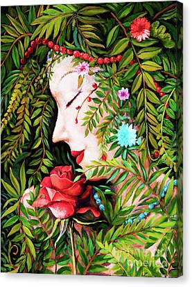 Flora-da-vita Canvas Print by Igor Postash