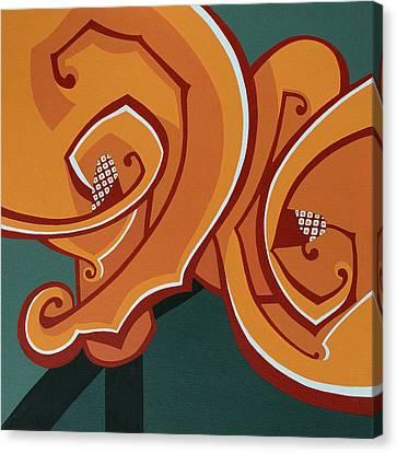 Flora Series II Canvas Print by Susan Lishman