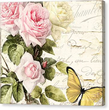 Florabella II Canvas Print