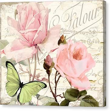 Florabella IIi Canvas Print