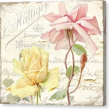Florabella Iv Canvas Print