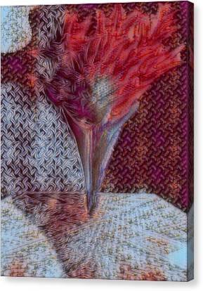 Florail X Canvas Print