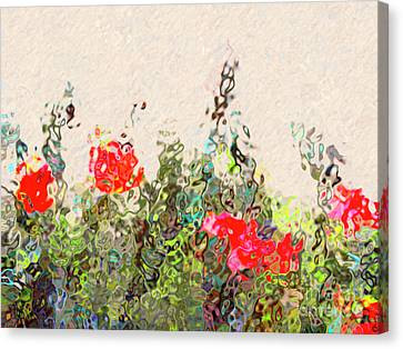Floral Allusions Canvas Print