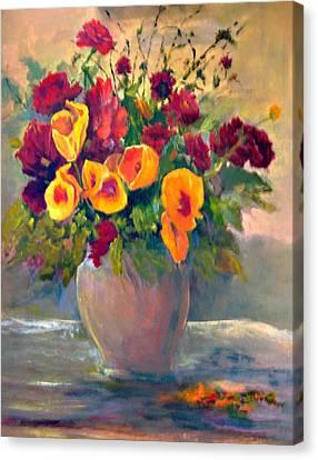 Floral Bouquet Canvas Print by Jimmie Trotter