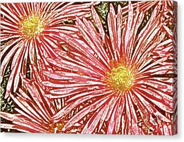 Floral Design No 1 Canvas Print by Ben and Raisa Gertsberg