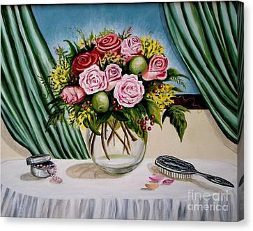 Floral Essence Canvas Print by Elizabeth Robinette Tyndall