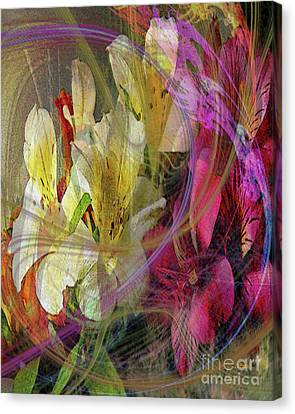 Floral Inspiration Canvas Print by John Beck