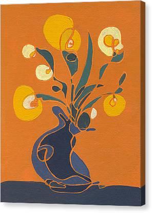 Floral Ix Canvas Print