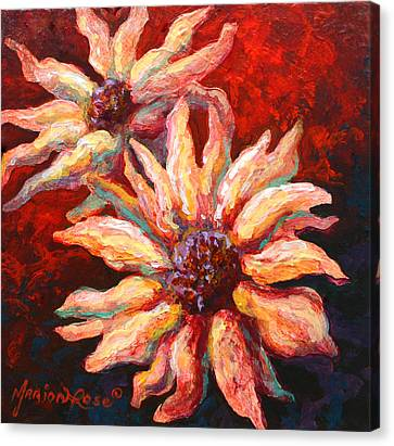 Floral Mini Canvas Print by Marion Rose