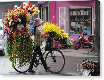 Floral Ride Canvas Print by Marion Galt