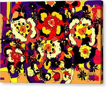 Floral Splendor Canvas Print by Natalie Holland