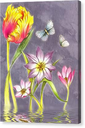 Floral Supreme Canvas Print
