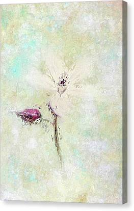 Floral Whispers Canvas Print