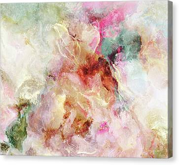 Floral Wings - Abstract Art Canvas Print