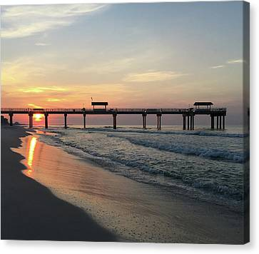 Florida Sunrise Canvas Print by Wayne Garmon